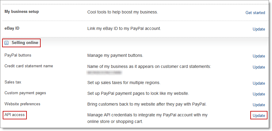 To authorize PayPal refunds for eBay